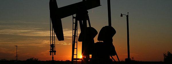 Ölförderung mit Ölpumpe